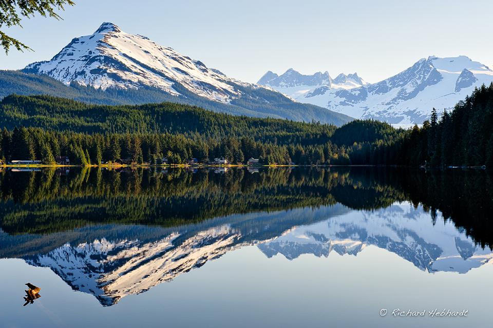 Auk Lake Reflections © Richard Hebhardt